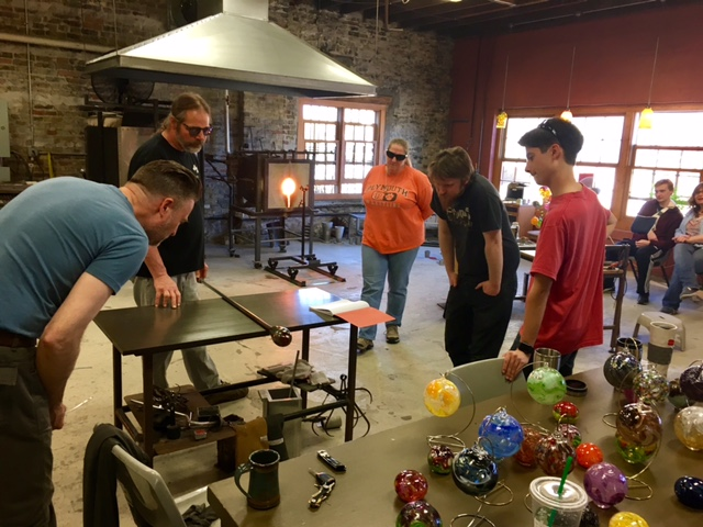 glassblowing an introduction to solid and blown glass sculpturing